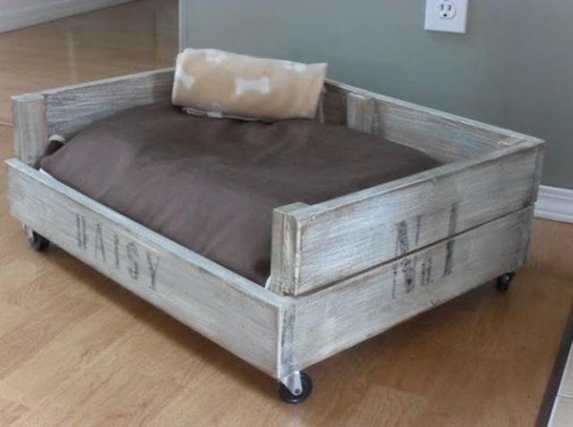 panier pour chien et coussin pour chien d co. Black Bedroom Furniture Sets. Home Design Ideas