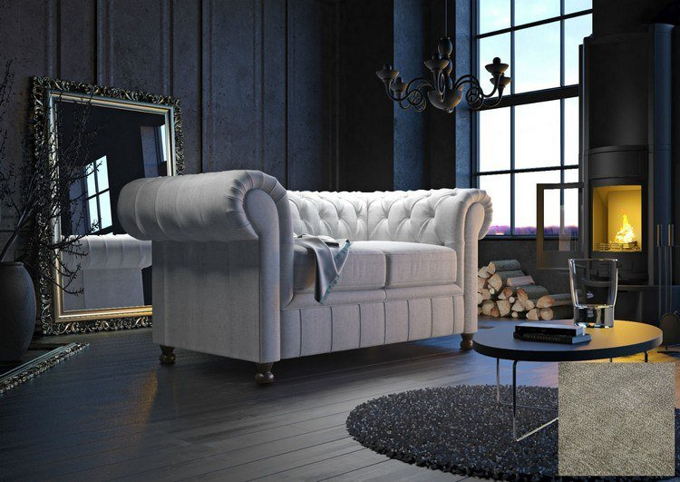 le canap chesterfield la grande tendance d co 2016. Black Bedroom Furniture Sets. Home Design Ideas
