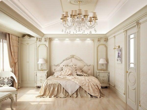 idéee de déco chambre romantique