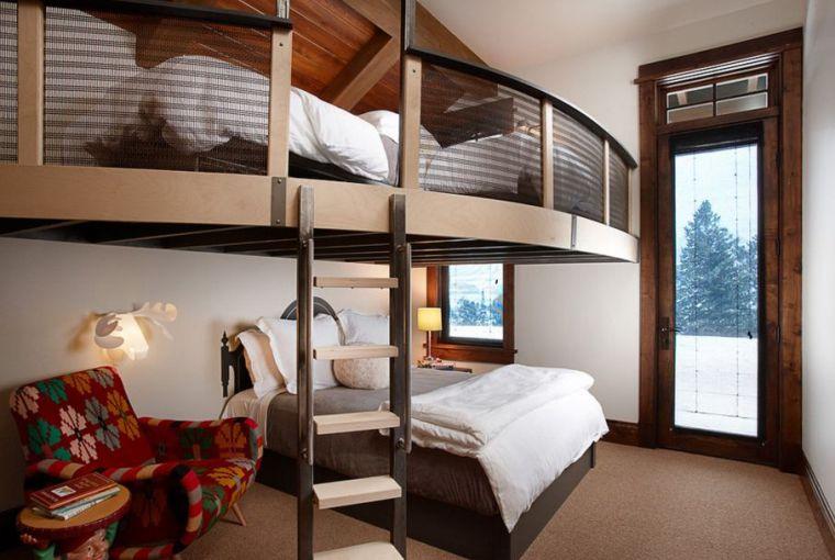 Lit mezzanine bien choisir Gain de place optimiser l\'espace chambre
