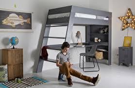 Lit mezzanine bien choisir gain de place optimiser l 39 espace chambre - Lit mezzanine enfant design ...