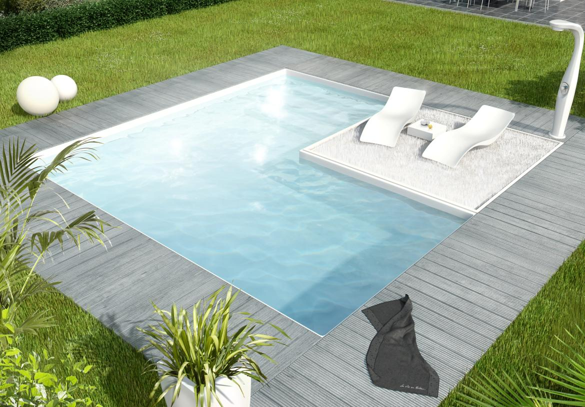 Beautiful jardin et piscine design contemporary amazing for Design piscine