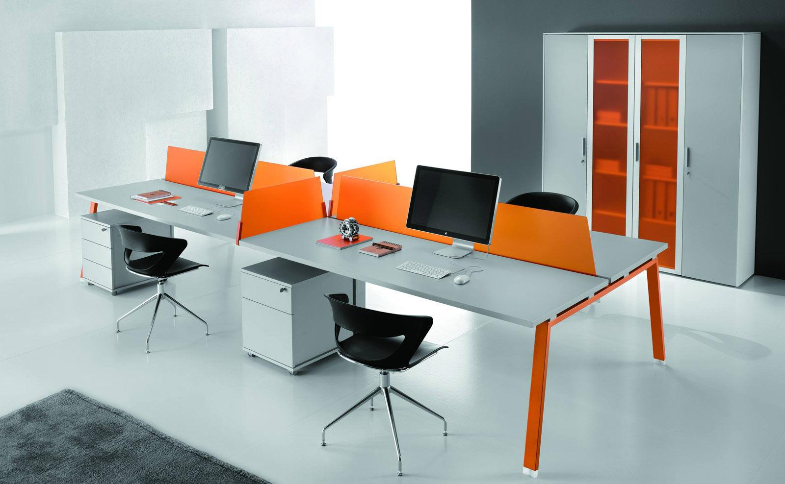 mod le de bureau dit bench am nagement bureaux. Black Bedroom Furniture Sets. Home Design Ideas