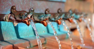 Déco naturelle fontaine décorative