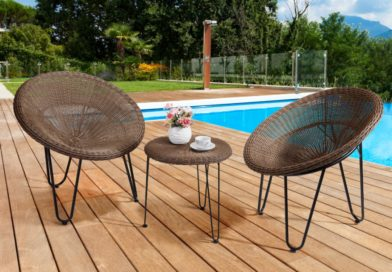 Bain de soleil en résine tressée: l'atout charme de votre jardin